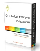 Collection of C++ Builder examples that will make your coding easier and faster.