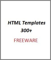 Free HTML Templates 300+