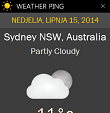 Weather Ping